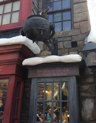 A cute shop in Hogsmeade